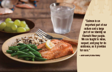 Salmon Recipe Card