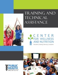 Training and Technical Assistance Catalog