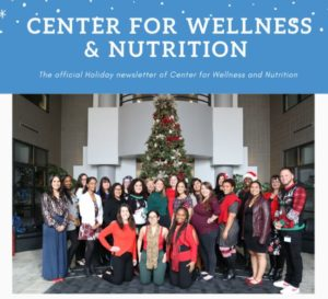Center for Wellness and Nutrition team 2019