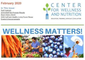 Wellness Matters! header