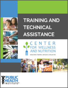 CWN Training and Technical Assistance Catalog